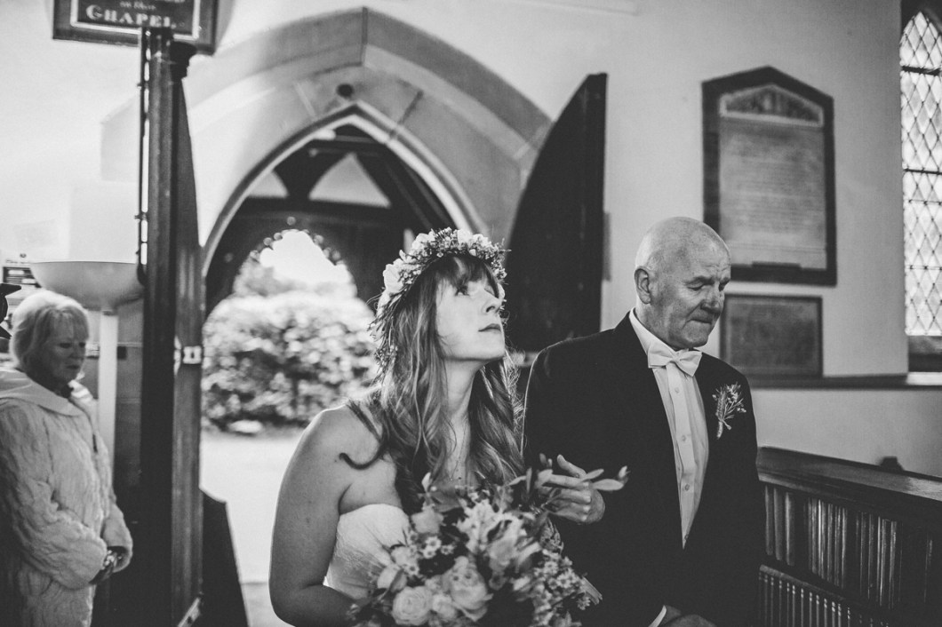 Styal church ceremony