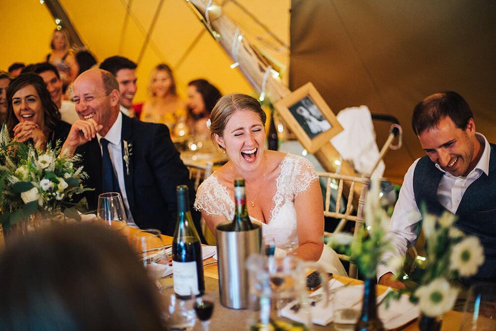 Tipi wedding at Heaven Farm