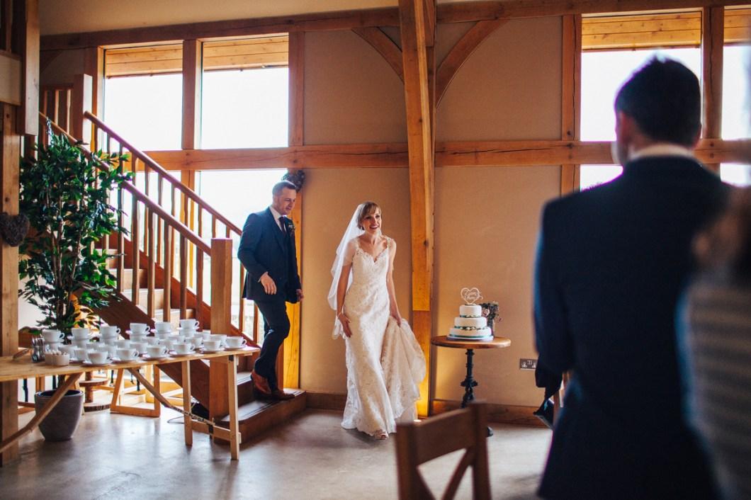 Barn wedding Wales