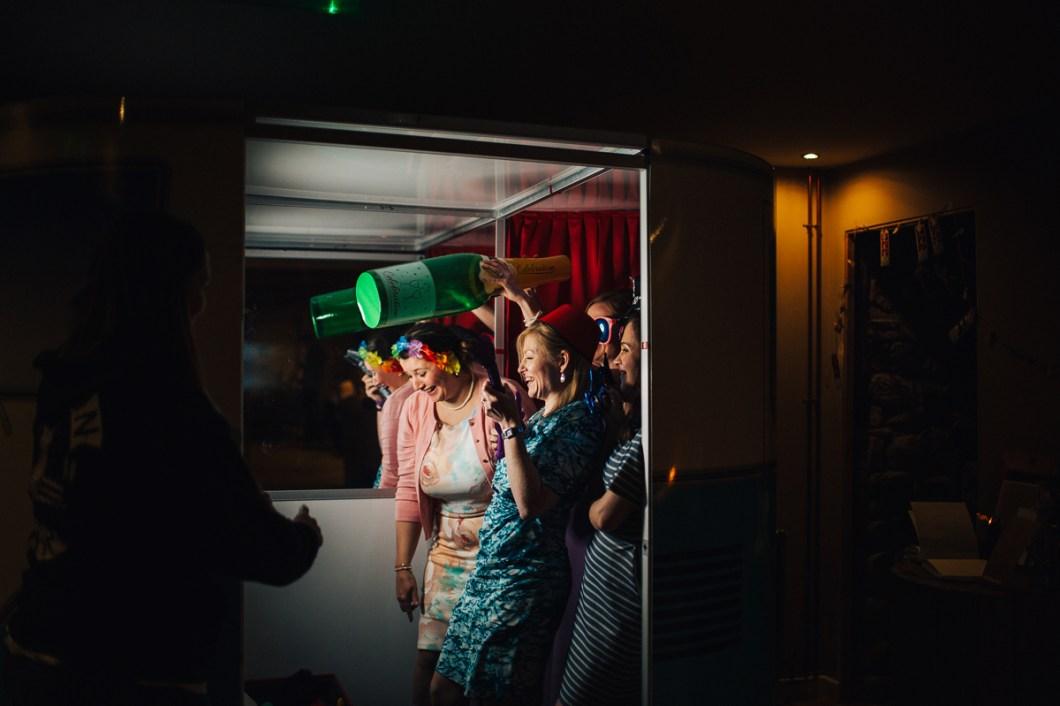 Wedding photo booth Llangollen