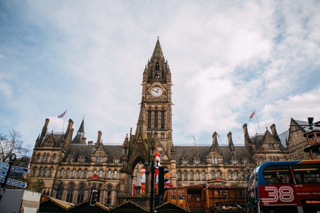Manchester Town Hall wedding venue