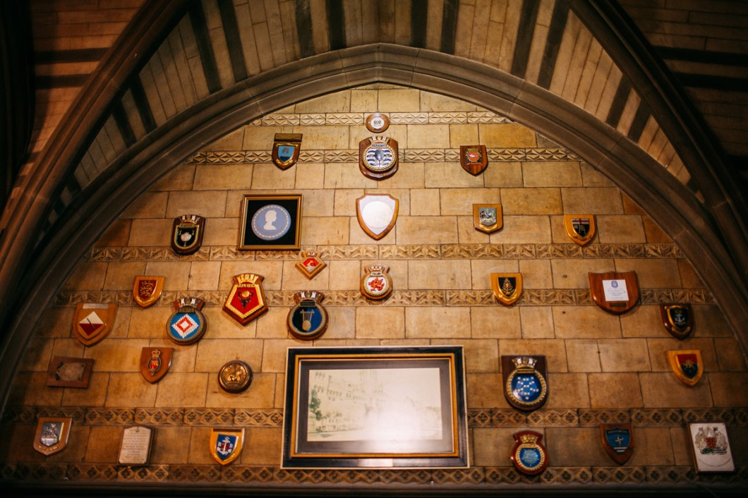 Manchester Town Hall wall plaques
