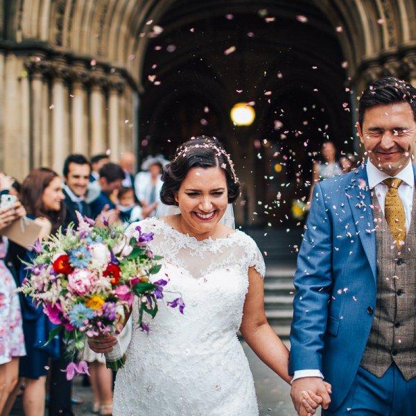 Beautiful Manchester wedding