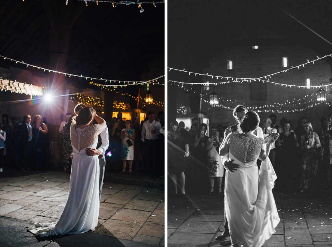 First Dance East Riddlesden Hall Wedding.