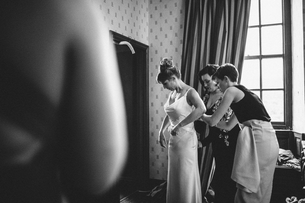 Documentary wedding photographer Lancashire