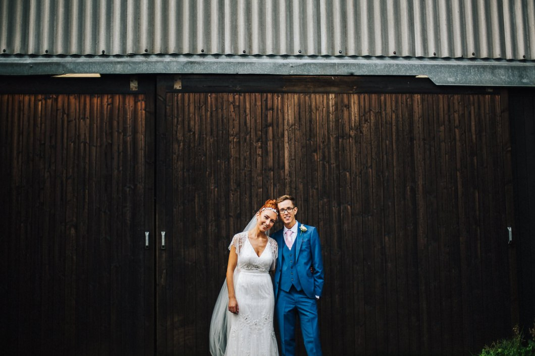 Rustic The Outbarn wedding Clitheroe