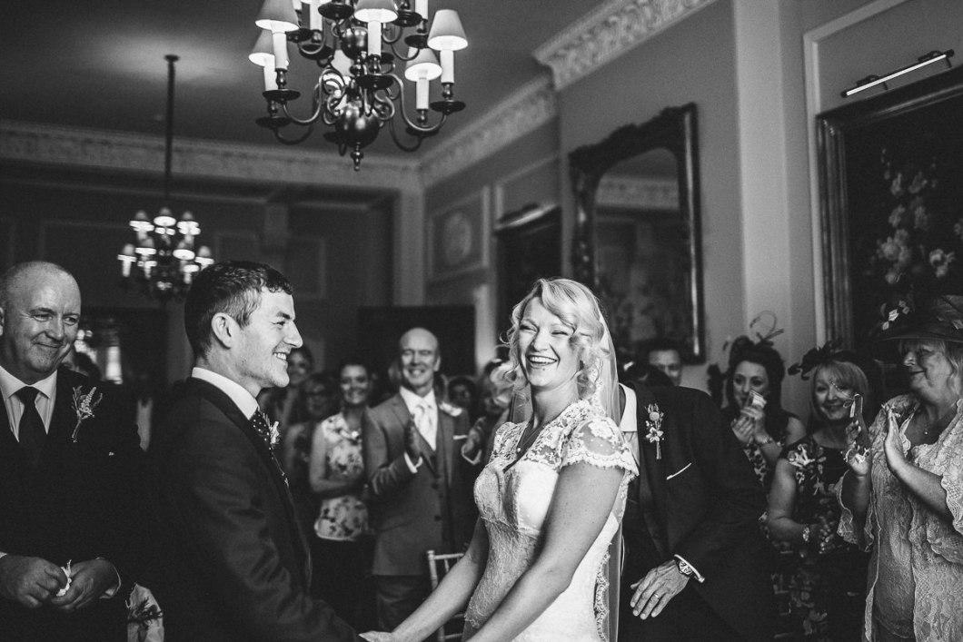 Storrs Hall wedding ceremony