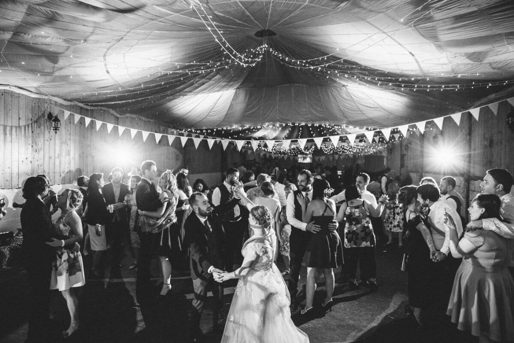 Quirky fun wedding in Lancashire