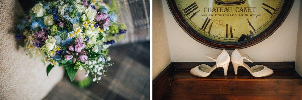 Pastel wedding flowers