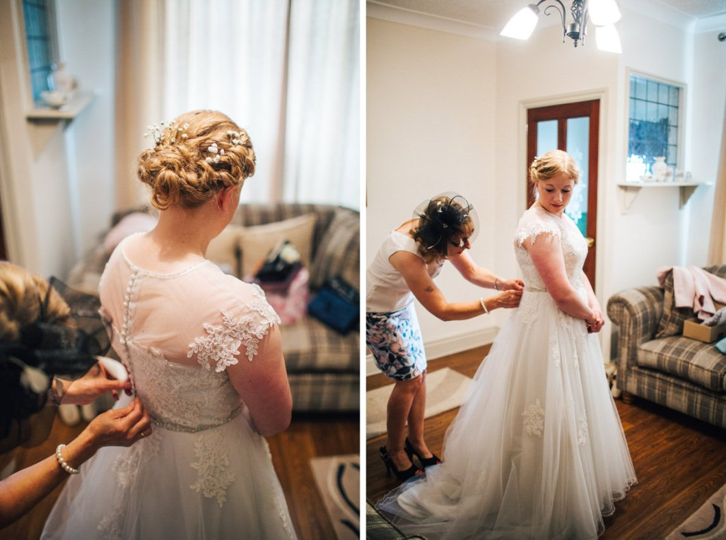 Bridal preparations Lancashire