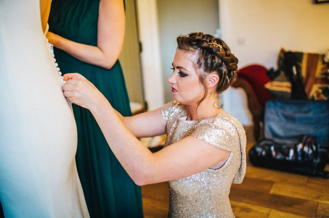 Bridal preparations - The West Mill