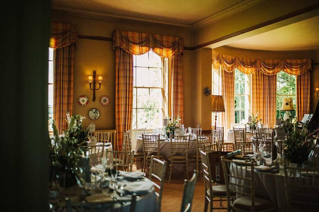 East Bridgford Hill dining room