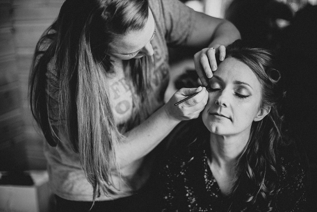 Wedding day makeup Styal Lodge