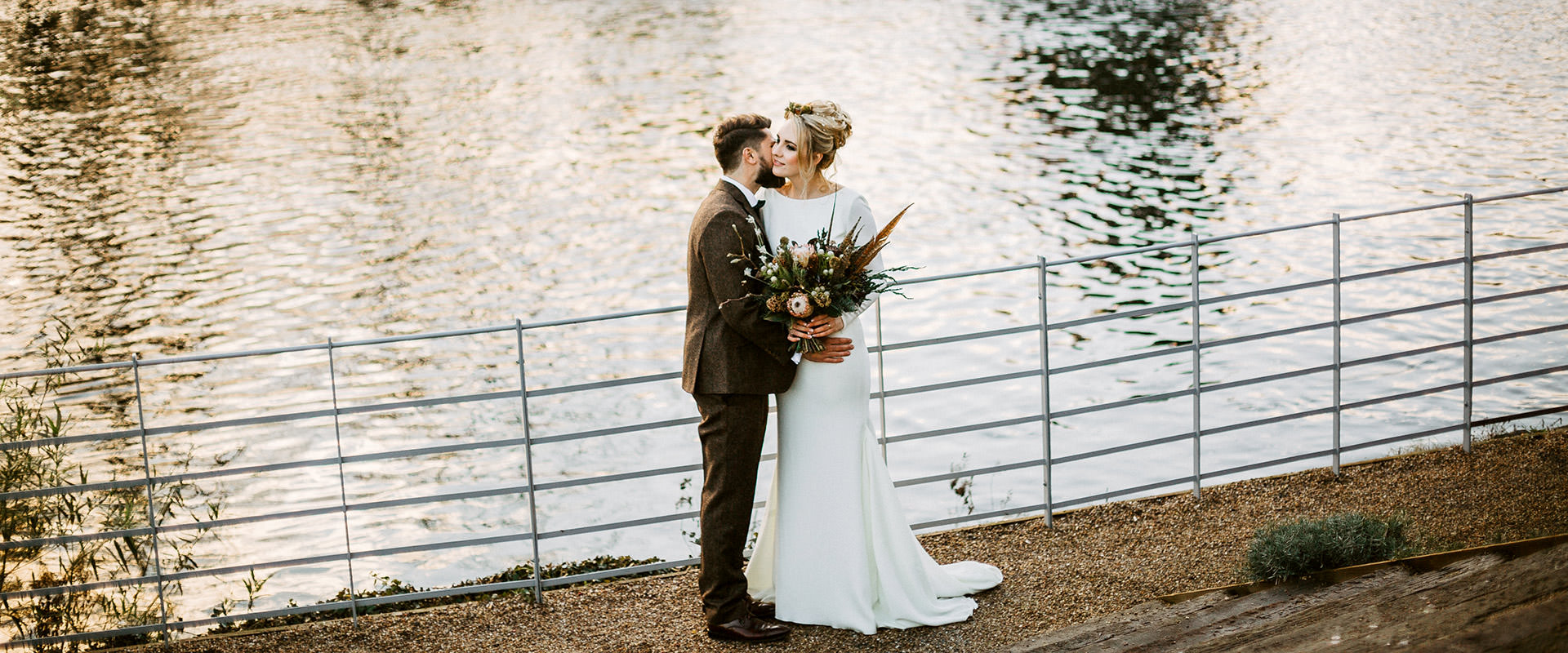 Beautiful woodland themed wedding at The West Mill