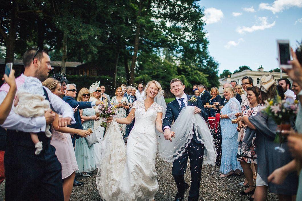 Lake District wedding at Storrs Hall