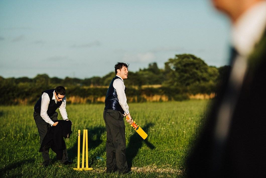 Wedding cricket
