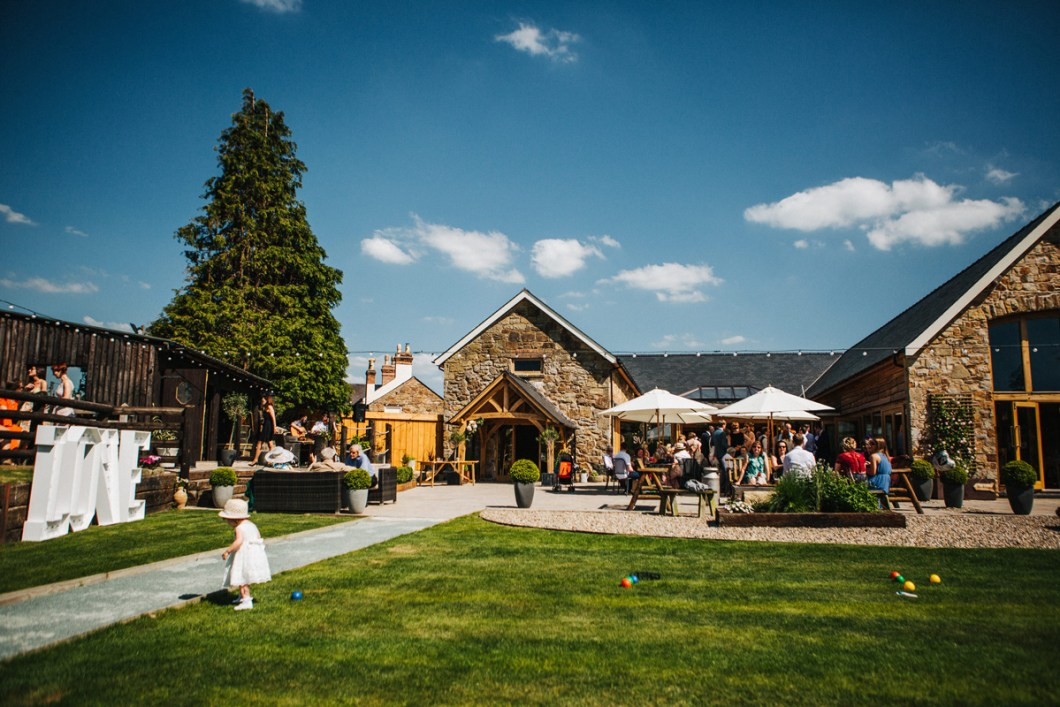 Tower Hill Barn - North Wales wedding venue