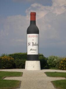 Huge Saint-Julien Wine Bottle