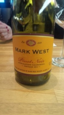 Mark West Pinot Noir Vintage 2013 Wine Bottle