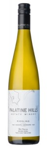 Palatine Hills Riesling 2015 Wine Bottle