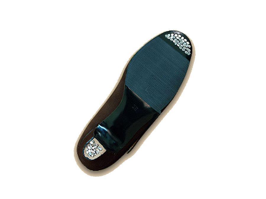 Zapato de flamenco M-10 Box, malaca