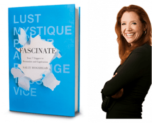 sally hogshead with Fascinate book cover