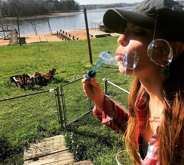 Emily Binder bubble wand