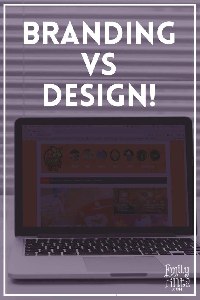 Emily Finta - Branding vs Design
