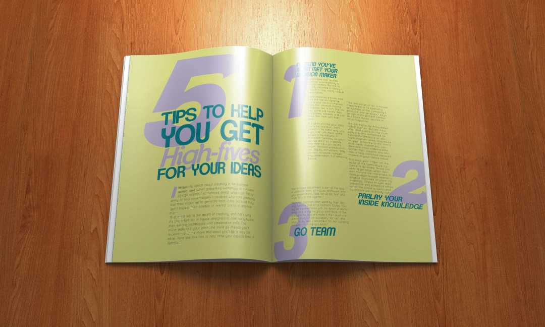 Type Magazine Layout 2