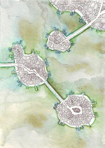 Leapfrog Islands (Cityspace #140)