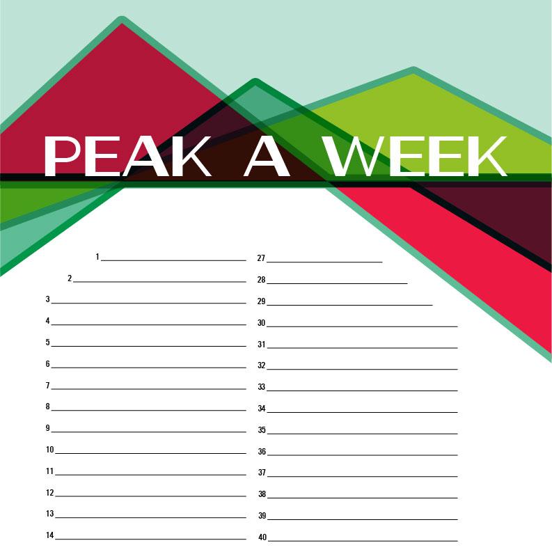 365 048 Peak A Week Poster 06