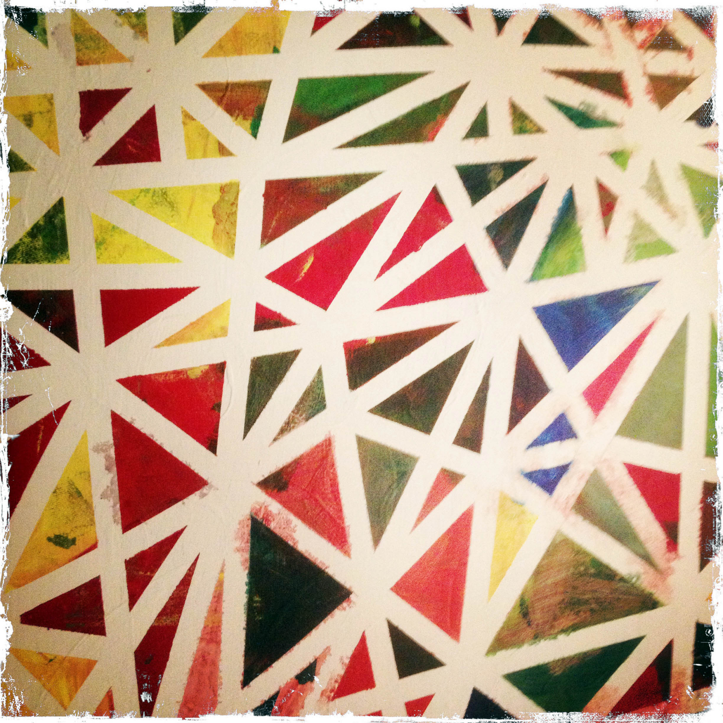 Day 282: Triangle Painting
