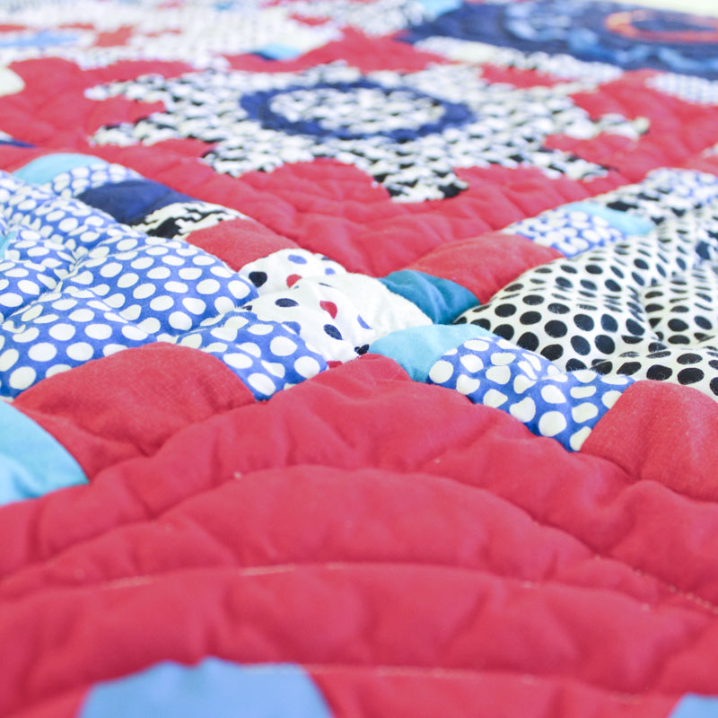 Day 272: Bright Idea Quilt, Completed
