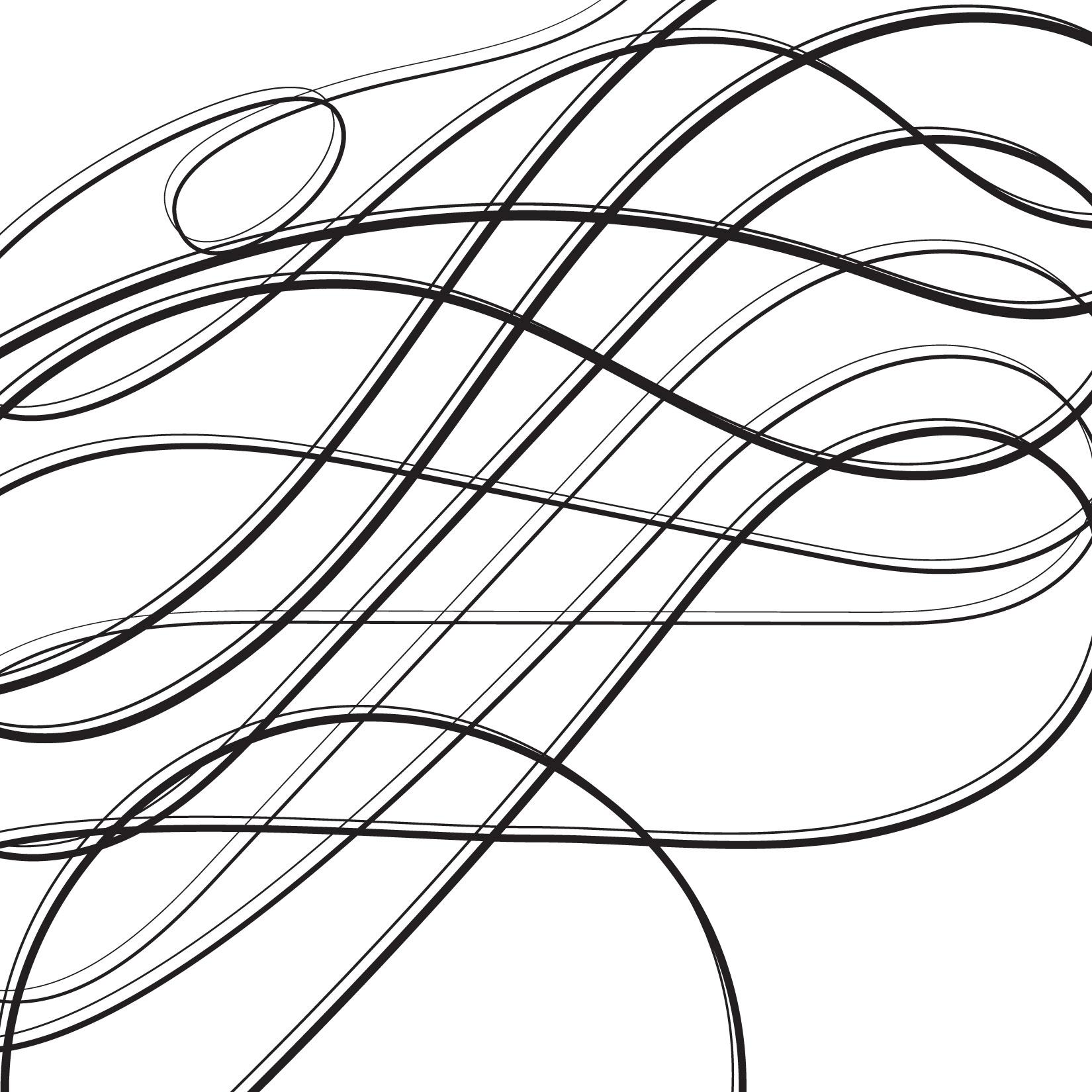 Calligraphic Lines 02