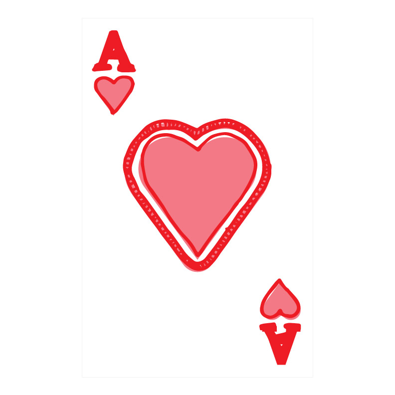 Custom Playing Cards Hearts 01