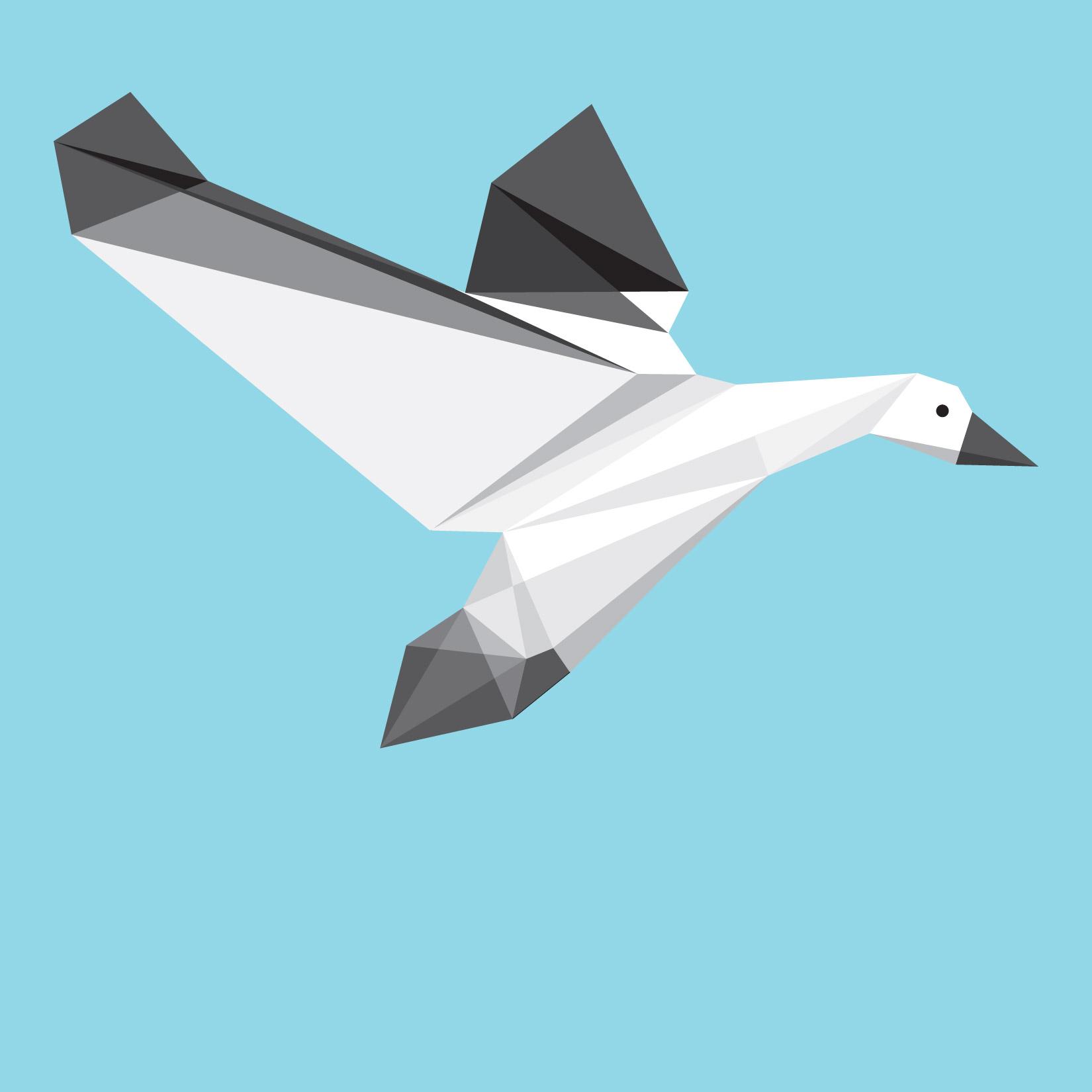 Geometric Bird Patterns 01