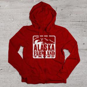 aftc hoodie mockup red
