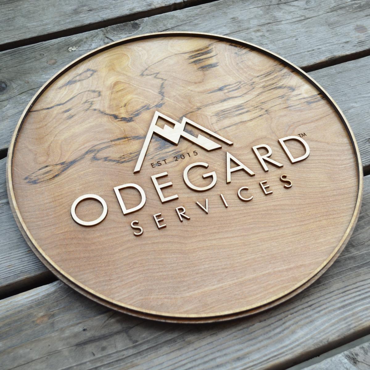 Emily Longbrake Odegard Services Sign 2