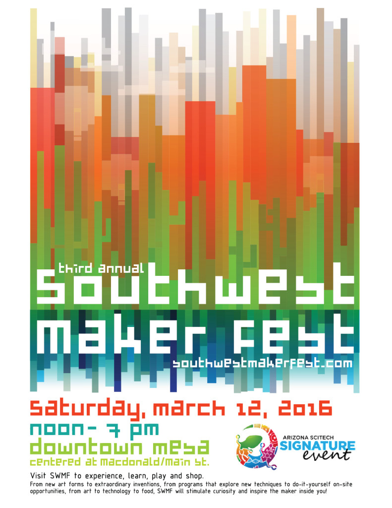 Southwest maker fest poster design contest emily longbrake poster entry for emily longbrake southwest maker fest poster design contest solutioingenieria Image collections