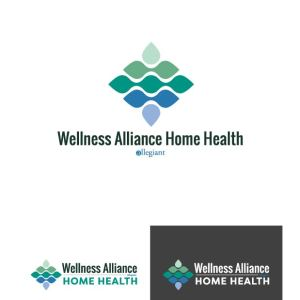 Wellness Alliance Home Health Logo Design Drafts 03
