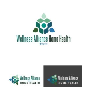 Wellness Alliance Home Health Logo Design Drafts 11