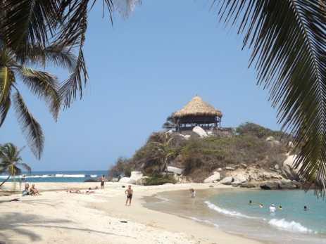 Cabo Beach, Parque Tayrona, Colombia