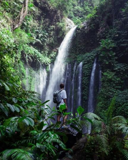 Sendang Gile Waterfall, Indonesia