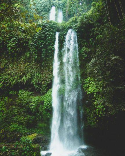 waterfall lombok
