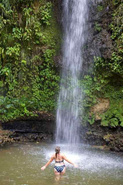 Touraille Waterfall St Lucia