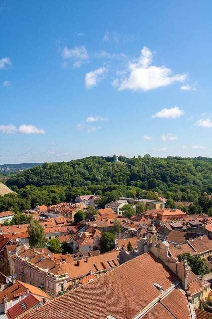 best views in vilnius