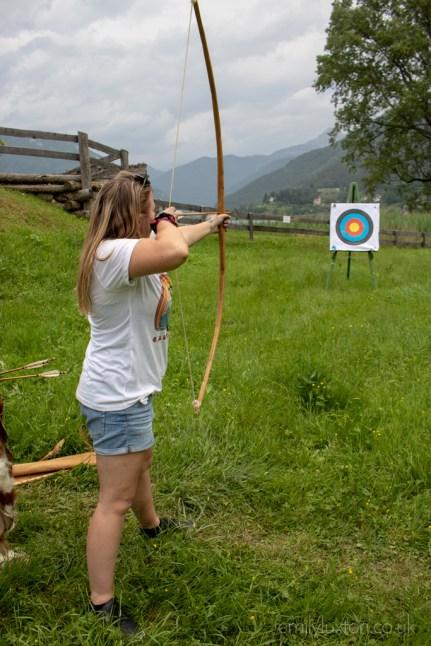 Archery at Museo delle Pallafite