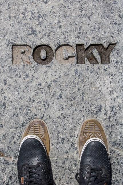 Rocky Steps in Philadelphia on the Trek America Freedom Trail