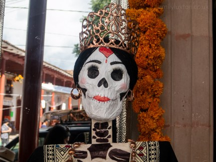 Copper day of the dead decorations