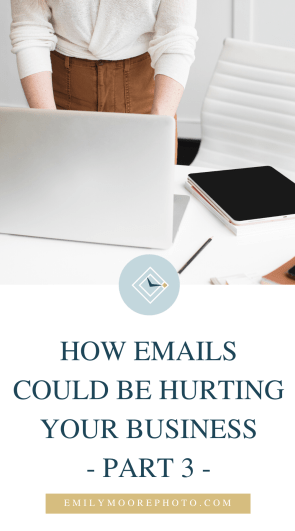 How Emails Could Be Hurting Your Business (Part 3) | Emily Moore | Private Photo Editor | Part 3 of my Email series. In this post, I talk about the Community over Competition movement and how it's impacted the way small business owners are asking for help.